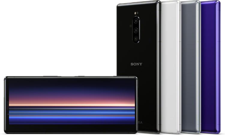 Le Sony Xperia 1, un smartphone avec un écran 4K HDR OLED au format cinéma 21:9