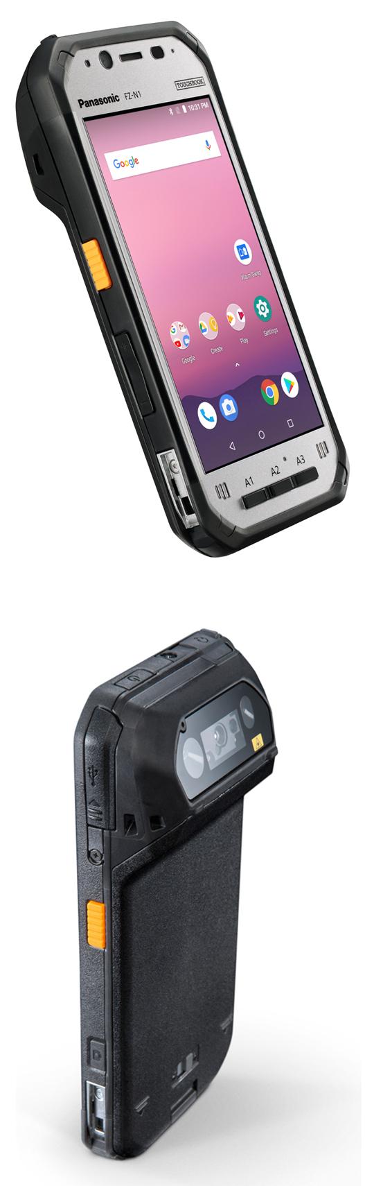 Le Toughbook FZ-N1, un nouveau terminal de poche durci avec un lecteur de codes-barres
