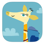 Le voyage d'Adeline la girafe, une application ludo-éducative gratuite