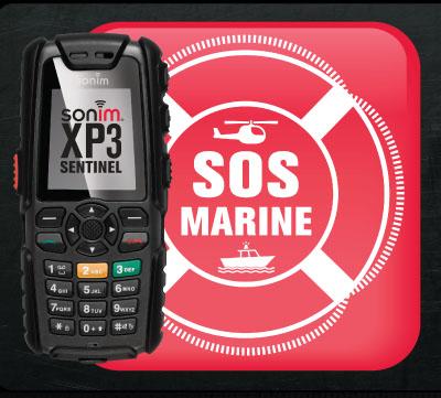 Le XP3 Sentinel Marine SOS : un mobile dédié aux marins