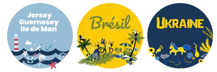 Les abonnés Free peuvent utiliser leur forfait avec 25Go/mois au Brésil, les îles de Jersey/Guernesey, l'Ile de Man et l'Ukraine