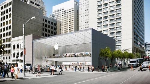 Les Apple Store se préparent à un relooking extrême