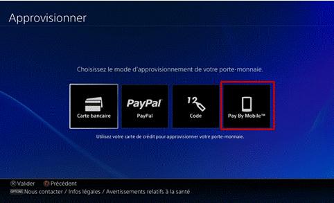 Les clients mobile SFR bénéficient  désormais du paiement sur leur facture au sein du PlayStation Store