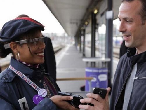Les contrôleurs de la SNCF, seront-ils équipés des Google Glass ?