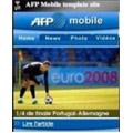 Les informations de l'AFP disponibles sur téléphone mobile