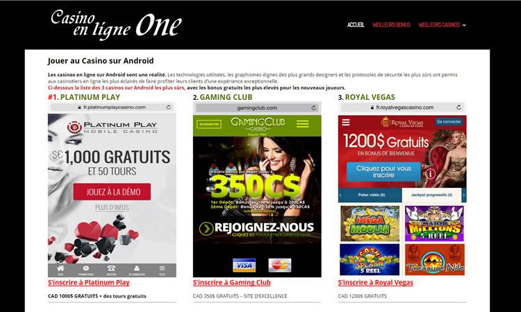 Les sites de jeux d'argent sont mobiles en Europe