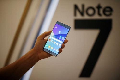 Les Samsung Galaxy Note 7 sont interdits de vol