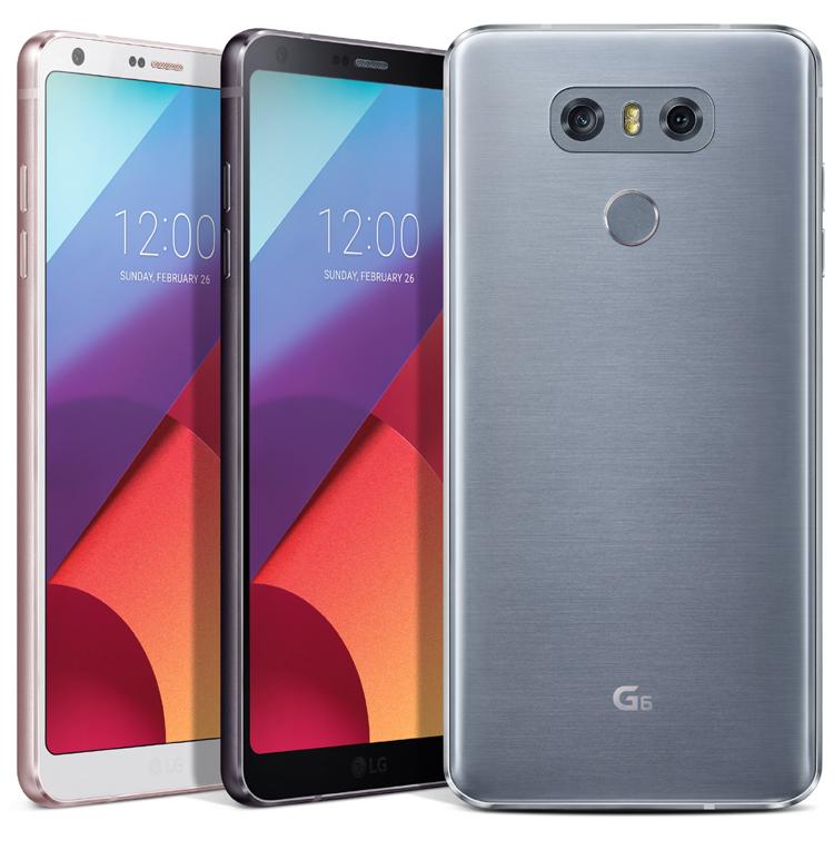 Le LG G6 a reçu 31 prix au MWC 2017