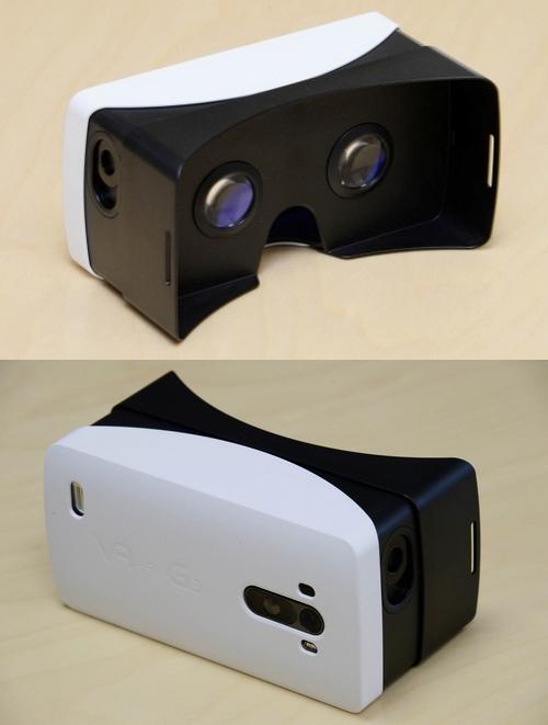 LG présente un casque de réalité virtuelle : VR for G3