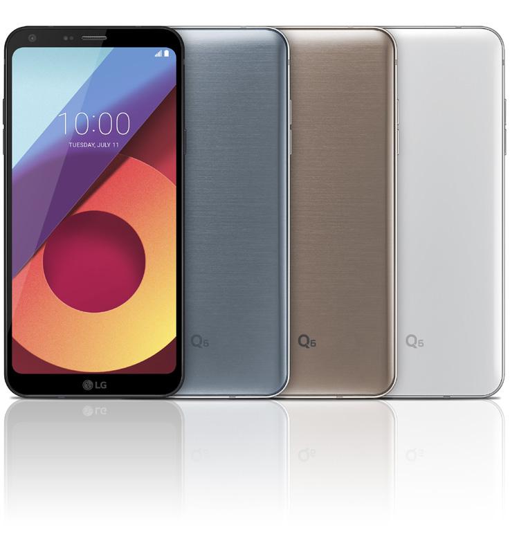 LG annonce la commercialisation officielle du LG Q6 en France