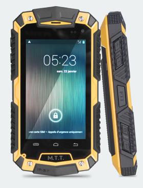 M.T.T. Smart Robust : un smartphone Android 4.2 étanche et solide