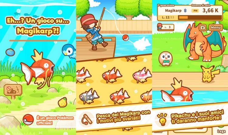 MagiKarp Jump: le nouveau jeu mobile avec des Pokémons