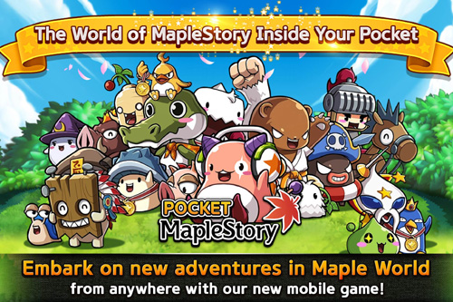 MapleStory, le MMORPG  arrive sur mobile avec Pocket MapleStory