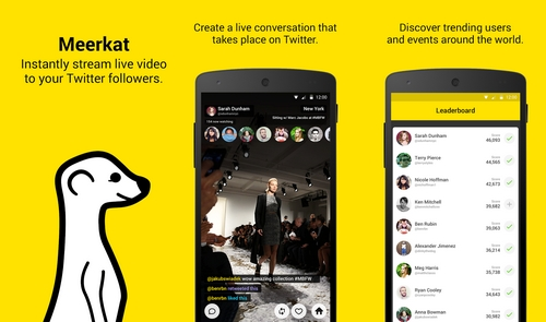 Meerkat oublie Twitter et s'ouvre à Facebook et Android