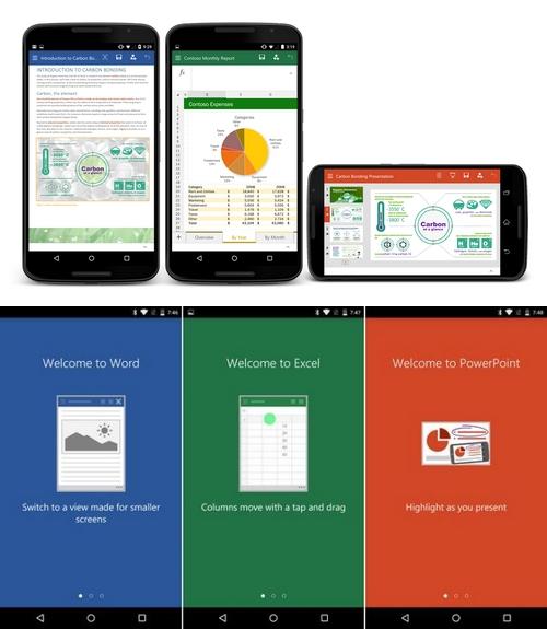 Microsoft : la preview d'Office pour les smartphones Android est disponible