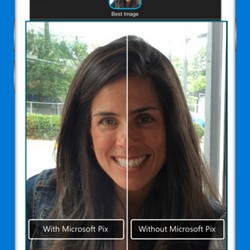 Microsoft Pix : mieux que l'appareil photo des terminaux iOS ?