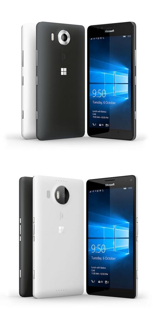 Microsoft Lumia 950 et 950 XL mettent en avant les capacités de Windows 10 Mobile