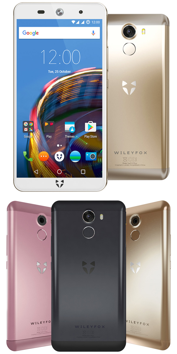 Les smartphones Wileyfox passent sous Android Nougat 7.1.1