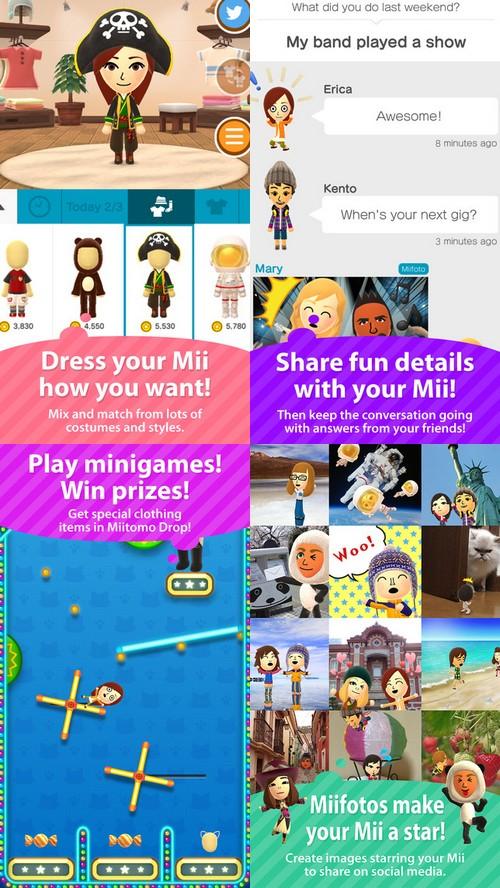 Petit tour sur Miitomo, la première application de Nintendo pour smartphone