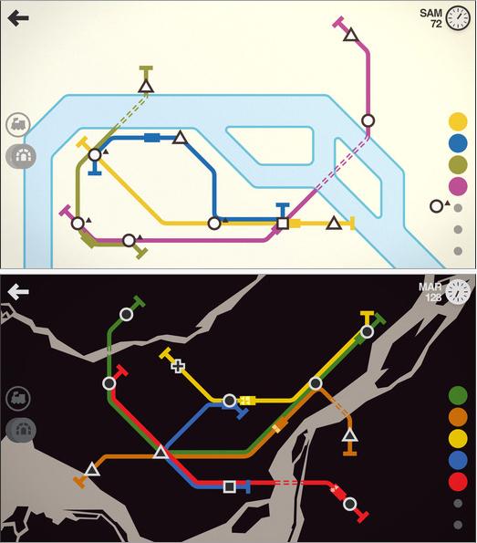 Mini Metro entre en gares sur Android et iOS