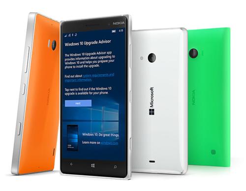 Mise à jour des Lumia de Windows Phone 8.1 à Windows 10 Mobile