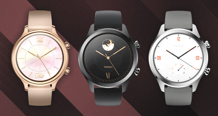 Mobvoi lance la TicWatch C2, une montre connectée Classique sous Wear OS par Google