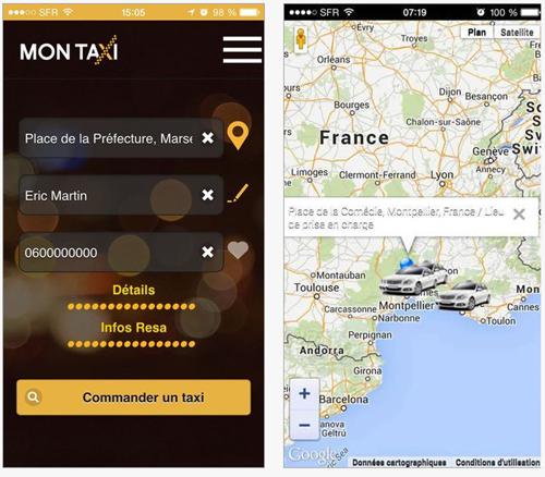 Commandez gratuitement un taxi partout en France en 2 clics