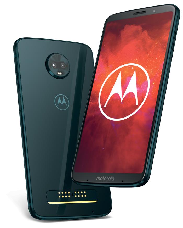 Motorola annonce l'arrivée du moto z3 play courant juillet