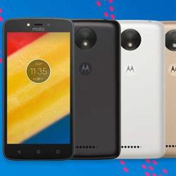 Motorola lance Moto C et C Plus, deux nouveaux smartphones à petits prix