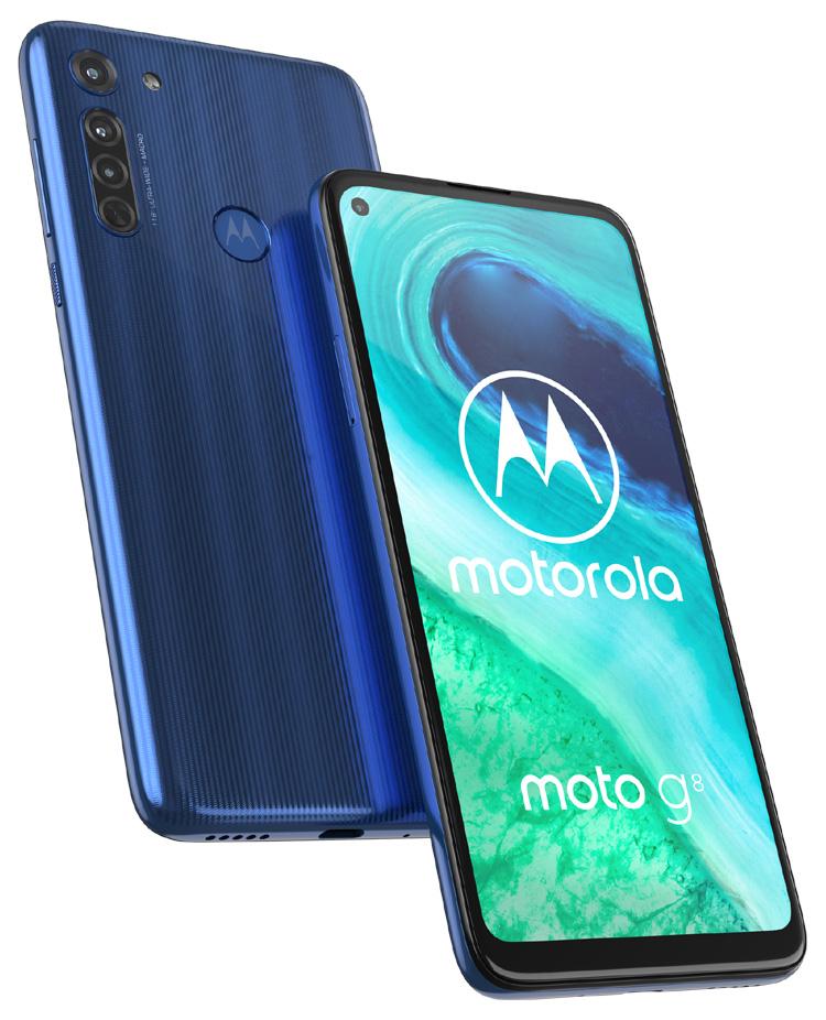 Motorola dévoile le dernier modèle de sa gamme g : le moto g8
