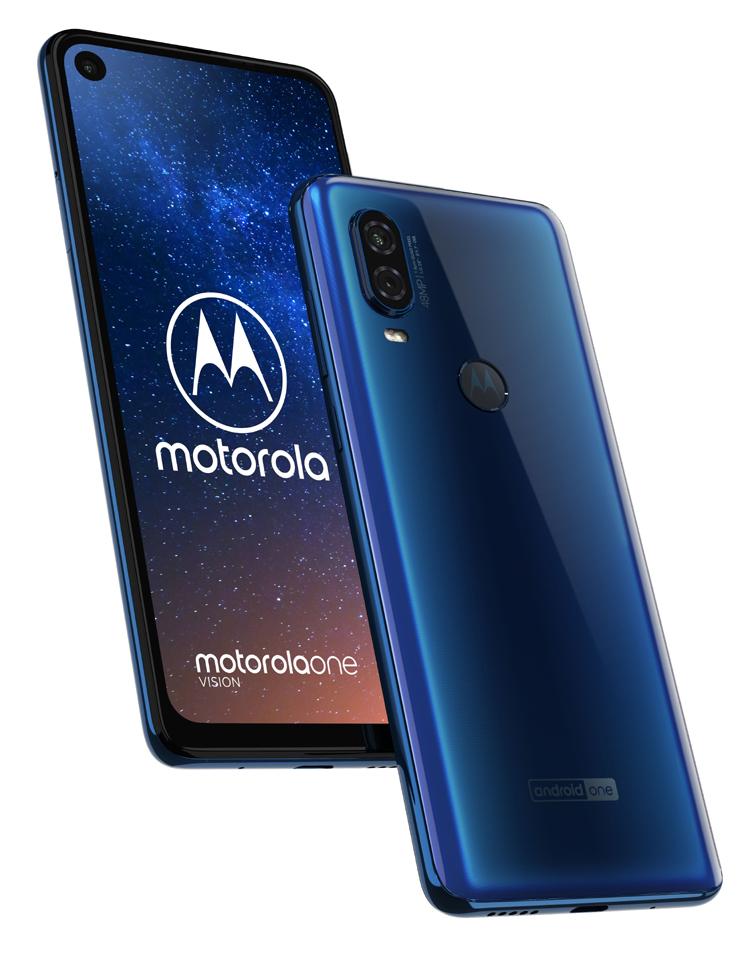Motorola dévoile son One Vision