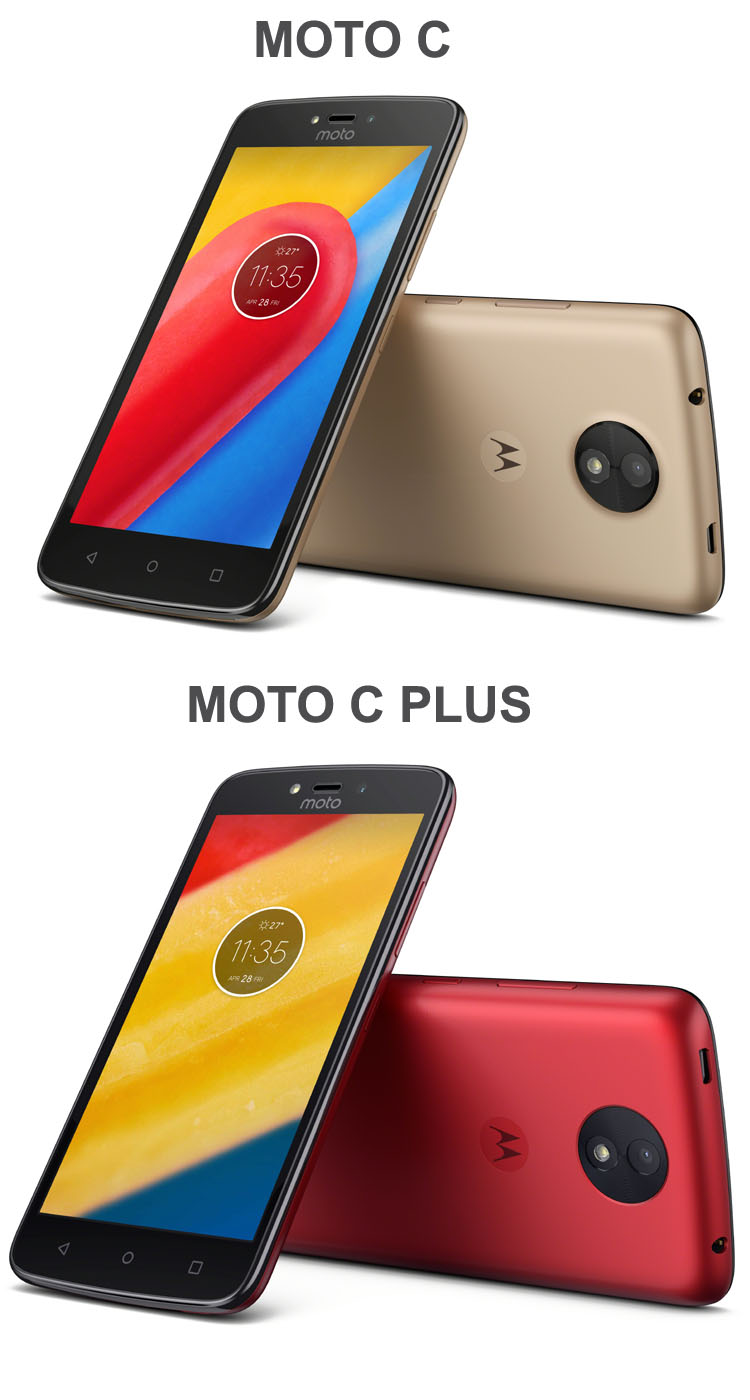 Motorola dévoile deux nouveaux smartphones low-cost