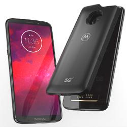Motorola Moto Z3, le premier smartphone commercialisé compatible 5G