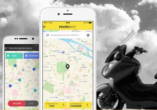 L'application motown cabs sera disponible début janvier 2016 sur iOS et Android