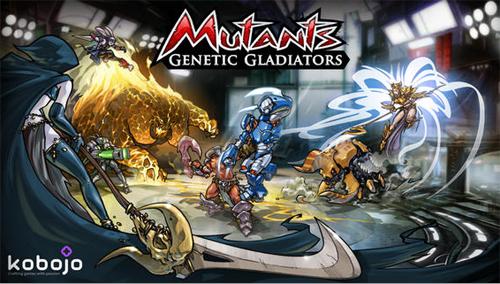 Mutants: Genetic Gladiators est disponible  sur plateformes mobiles