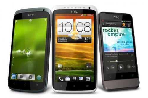 MWC 2012 : HTC présente trois smartphones sous Android 4.0 ICS