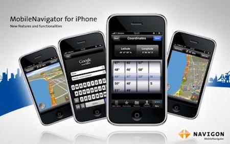 Navigon propose une nouvelle version de son application MobileNavigator