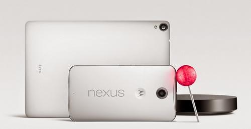 Nexus 6 : le nouveau smartphone de Google avec Android Lollipop
