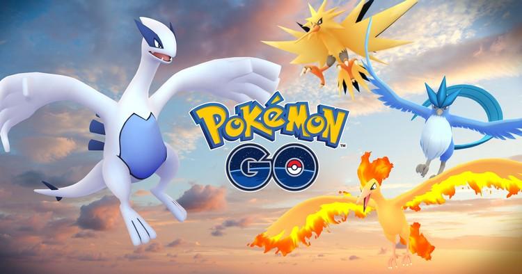 Lugia : premier pokémon légendaire à être disponible dans Pokémon GO