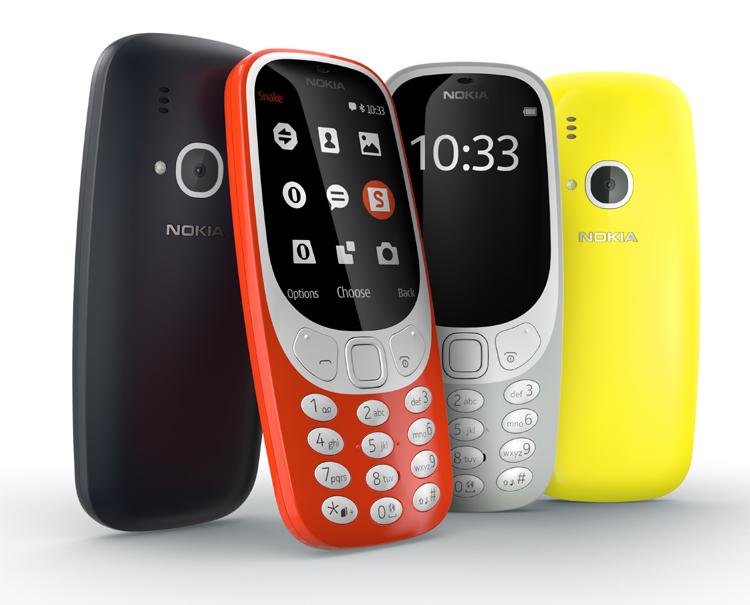 Nokia : trois nouveaux smartphones Android et le 3310 lancés au MWC