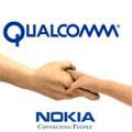 Nokia et Qualcomm utiliseront conjointement leur technologie