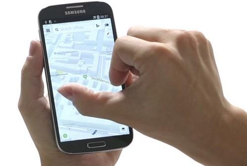Nokia Here  arrrive sur les Samsung Galaxy