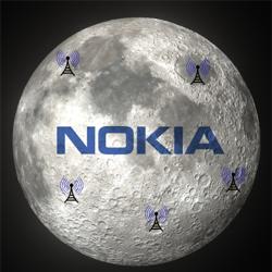 Nokia va déployer la 4G sur la lune avec la Nasa