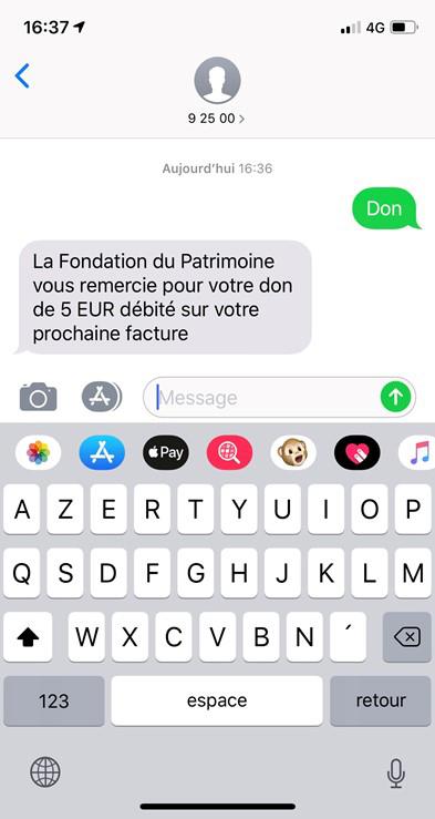 Notre-Dame : Bouygues Telecom, Orange et SFR proposent une collecte de dons par SMS