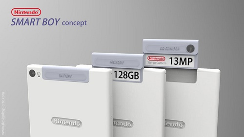 Smart Boy,  le futur smartphone de Nintendo ?