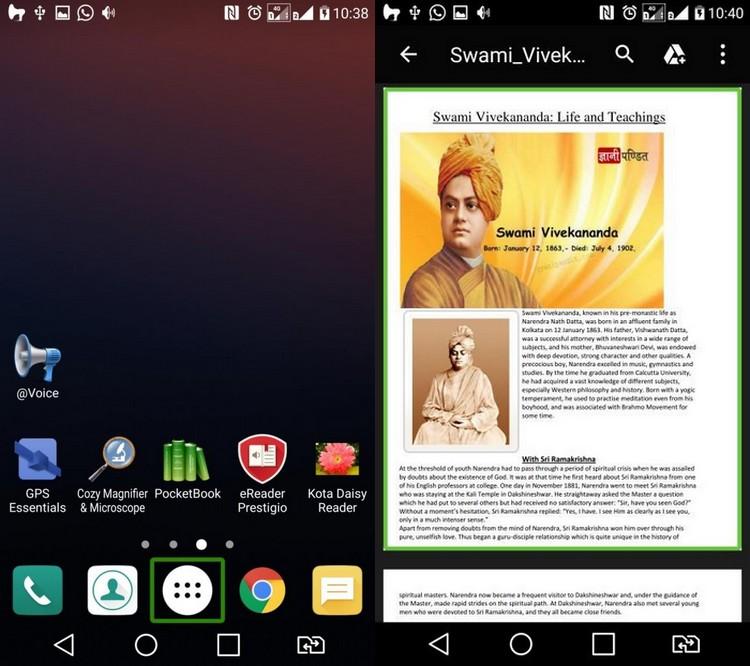 LG K7 : une version spécialement pour les malvoyants en Inde