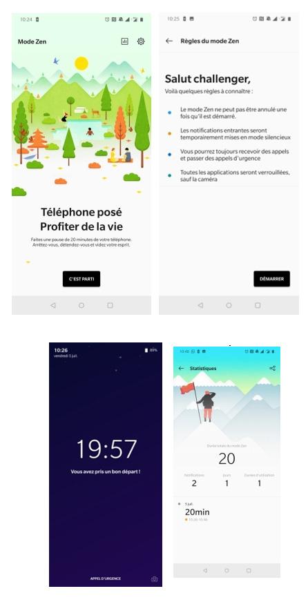 OnePlus développe son Mode Zen sur ses smartphones