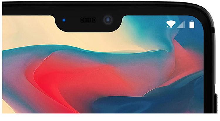 OnePlus en dit plus sur l'encoche présente sur le OnePlus 6