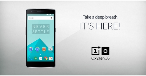 OnePlus lance son système d'exploitation : OxygenOS