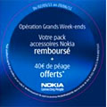 Opération Grands Weekends chez Nokia